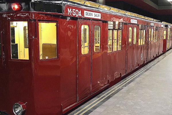 Estación de Chamartín. Museos del Metro de Madrid