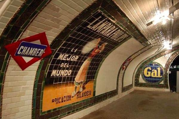 Estación de Chamberí. Museos del Metro de Madrid