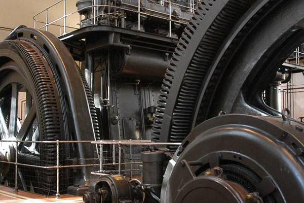 Nave de motores. Museos del Metro de Madrid