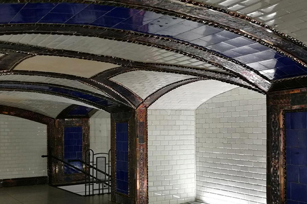 Vestíbulo de Pacífico. Museos del Metro de Madrid