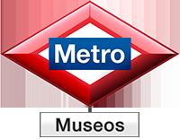 Museos del Metro de Madrid Logo